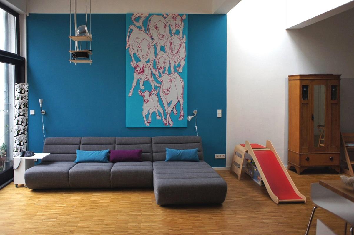 Haus pe theis janssen architekt bda - Bodentiefe schiebefenster ...